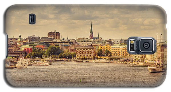 Warm Stockholm View Galaxy S5 Case