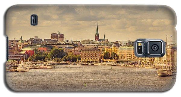 Warm Stockholm View Galaxy S5 Case