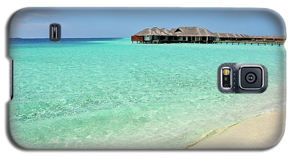 Warm Welcoming. Maldives Galaxy S5 Case