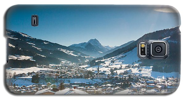 Warm Winter Day In Kirchberg Town Of Austria Galaxy S5 Case