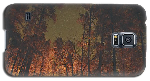 Warmth Of Trees And Stars Galaxy S5 Case