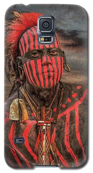 Warpath Shawnee Indian Galaxy S5 Case by Randy Steele