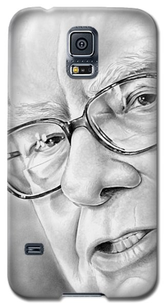 Wizard Galaxy S5 Case - Warren Buffett by Greg Joens