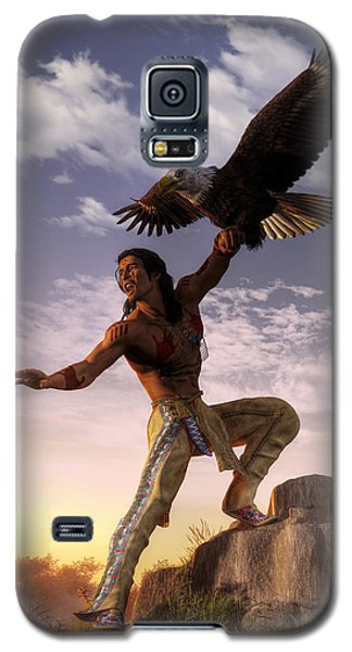 Warrior And Eagle Galaxy S5 Case