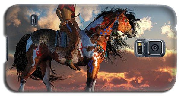 Warrior And War Horse Galaxy S5 Case by Daniel Eskridge