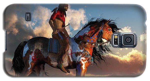 Warrior And War Horse Galaxy S5 Case