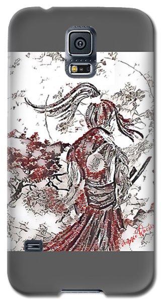 Warrior Moon Anime Galaxy S5 Case