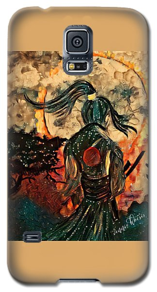 Warrior Moon Galaxy S5 Case