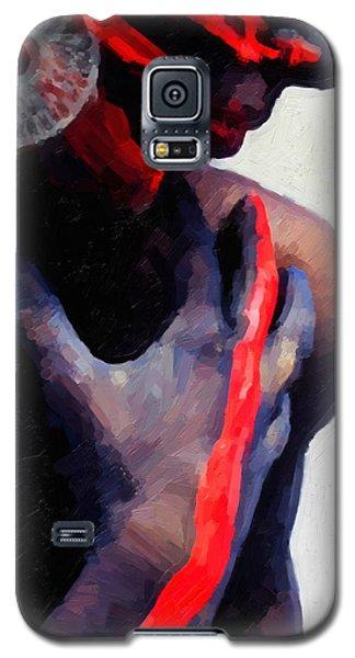 Galaxy S5 Case featuring the digital art Warrior Princess by Serge Averbukh