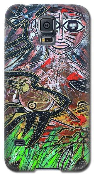Warrior Spirit Woman Galaxy S5 Case