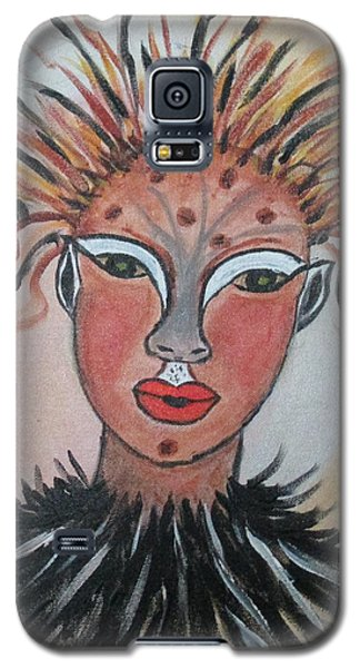 Warrior Woman  #3 Galaxy S5 Case by Sharyn Winters