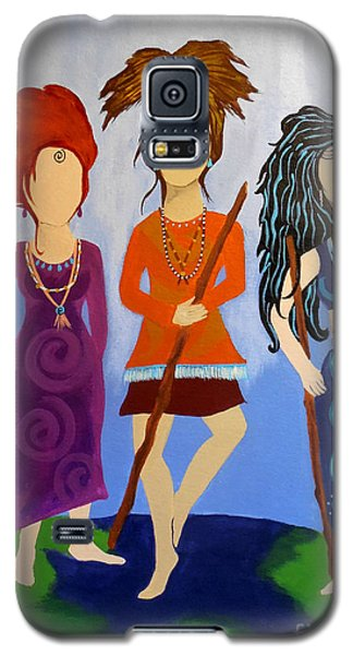 Warrior Woman Sisterhood Galaxy S5 Case