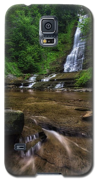 Galaxy S5 Case featuring the photograph Warsaw Falls 2 by Mark Papke