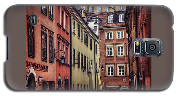 Warsaw Old Town Charm Galaxy S5 Case by Carol Japp