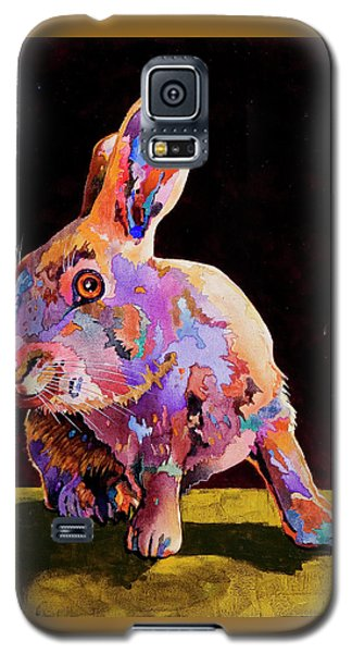 Galaxy S5 Case featuring the painting Wary by Bob Coonts