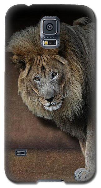 Was That My Cue? - Lion On Stage Galaxy S5 Case