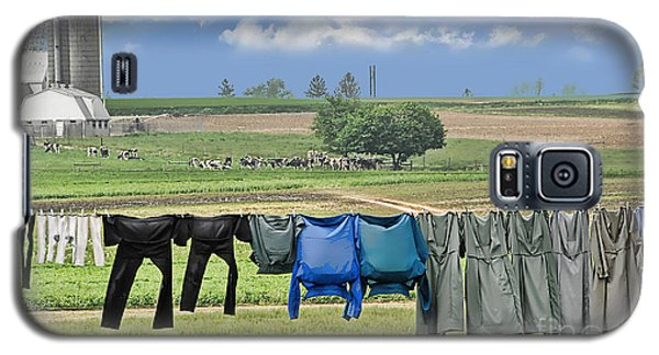 Wash Day In Amish Country Galaxy S5 Case