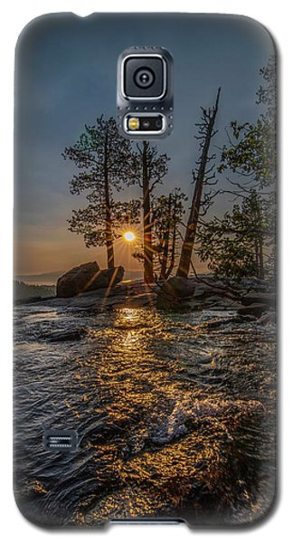 Washed With Golden Rays Galaxy S5 Case