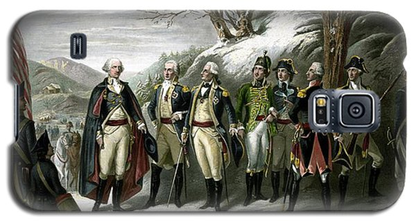 Washington And His Generals  Galaxy S5 Case by War Is Hell Store