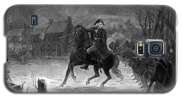 Washington At The Battle Of Trenton Galaxy S5 Case by War Is Hell Store