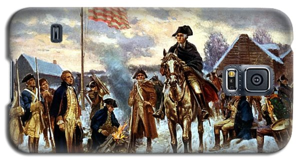 Politicians Galaxy S5 Case - Washington At Valley Forge by War Is Hell Store