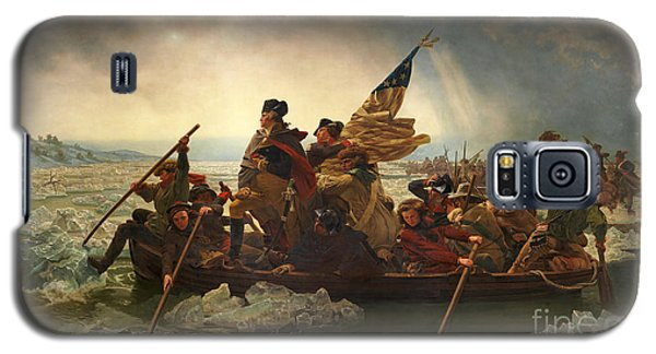 Galaxy S5 Case featuring the photograph Washington Crossing The Delaware by John Stephens