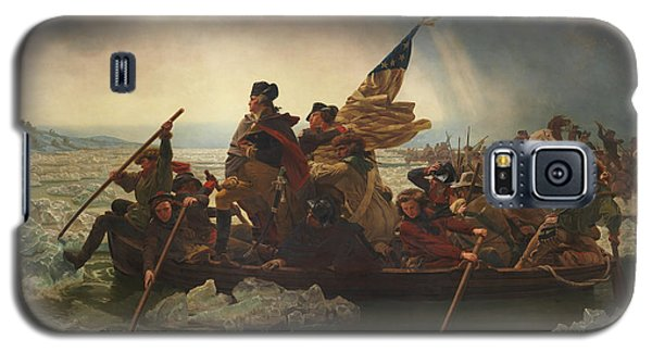 Politicians Galaxy S5 Case - Washington Crossing The Delaware by War Is Hell Store