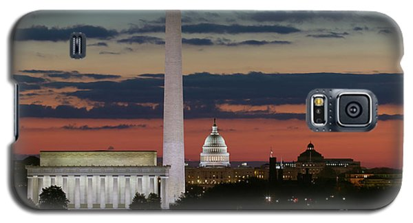 Washington Dc Landmarks At Sunrise I Galaxy S5 Case
