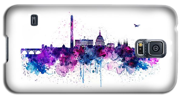 Washington Dc Skyline Galaxy S5 Case by Marian Voicu