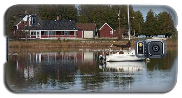 Washington Island Harbor 4 Galaxy S5 Case