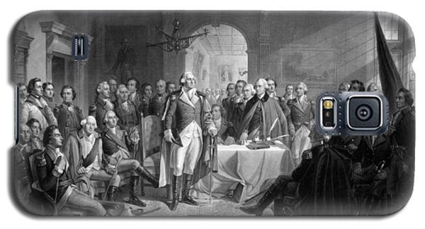 Washington Meeting His Generals Galaxy S5 Case by War Is Hell Store