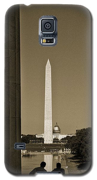 Washington Monument And Capitol #4 Galaxy S5 Case
