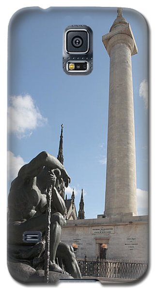 Washington Monument In Baltimore Galaxy S5 Case