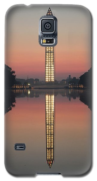 Washington Monument At Dawn Galaxy S5 Case