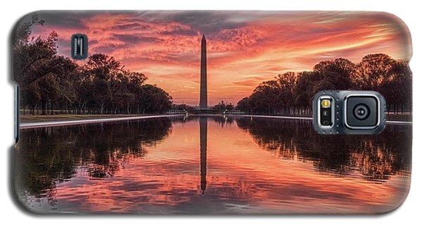 Washington Monument Sunrise Galaxy S5 Case