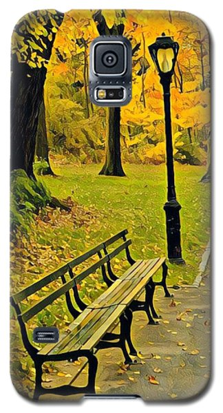 Washington Square Bench Galaxy S5 Case