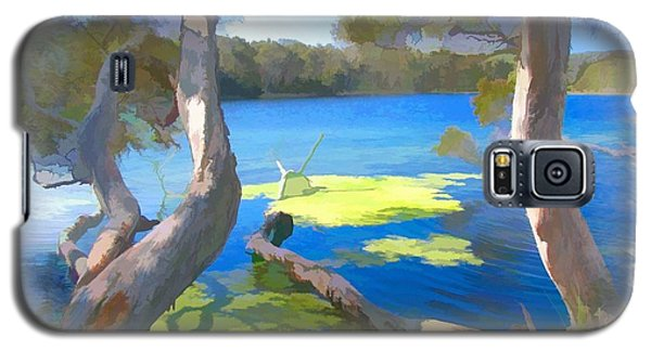 Galaxy S5 Case featuring the photograph Wat-0002 Avoca Estuary by Digital Oil