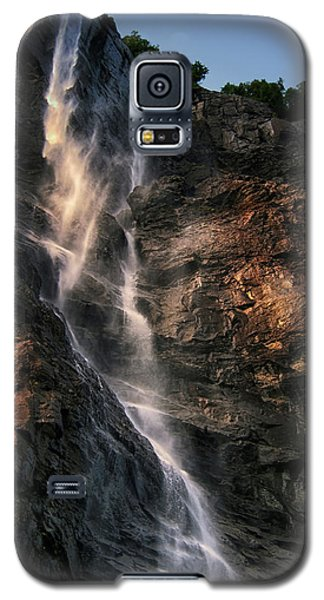 Geirangerfjord Waterfall Galaxy S5 Case by Jim Hill