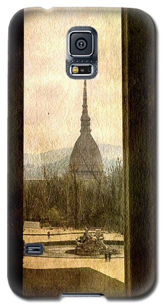 Watching Antonelliana Tower From The Window Galaxy S5 Case