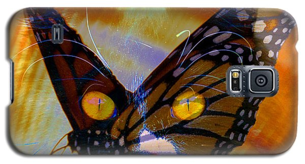 Galaxy S5 Case featuring the photograph Watching Butterlies by David Lee Thompson