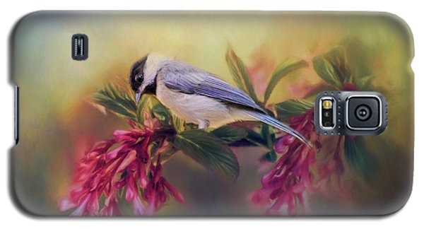 Watching Flowers Bloom Bird Art Galaxy S5 Case by Jai Johnson