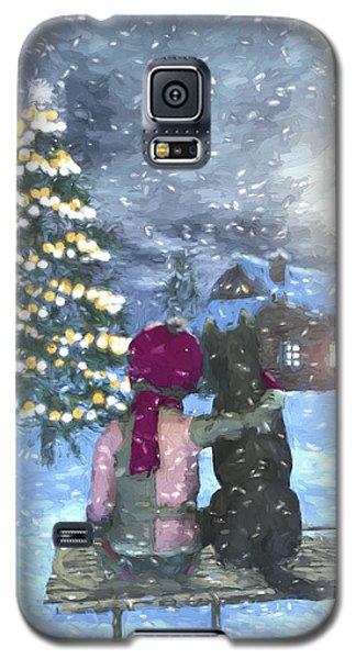Watching For Santa Galaxy S5 Case by Jayne Wilson