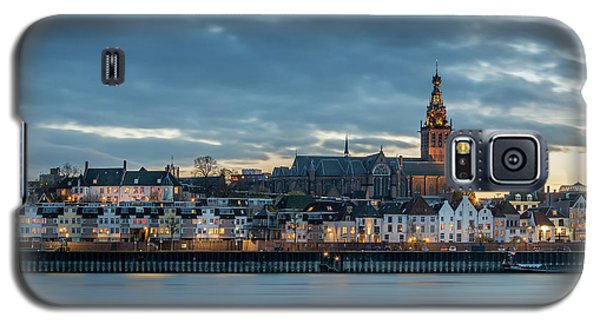 Watching The City Lights, Nijmegen Galaxy S5 Case