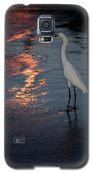 Watching The Sunset Galaxy S5 Case