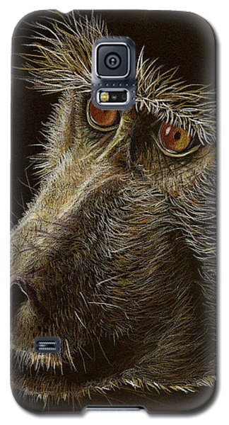 Galaxy S5 Case featuring the drawing Watching You by Heidi Kriel