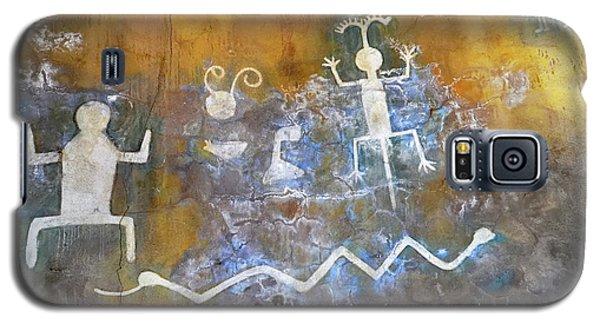 Watchtower Rock Art  Galaxy S5 Case