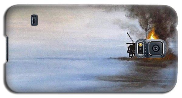 Water And Air Pollution Galaxy S5 Case by Annemeet Hasidi- van der Leij