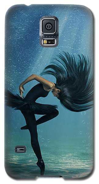 Water Ballet Galaxy S5 Case by Debby Herold