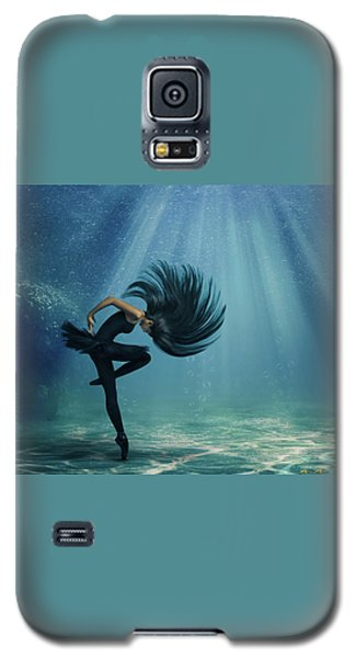 Galaxy S5 Case featuring the photograph Water Ballet by Debby Herold