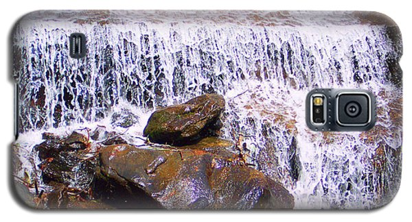 Galaxy S5 Case featuring the photograph Water Cascade by Roberta Byram